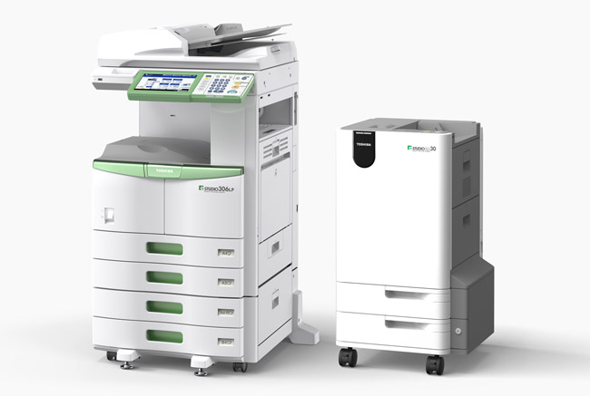 TOSHIBA e-Studio 306LP – Impresora multifunción que borra la tinta del papel para reutilizarlo