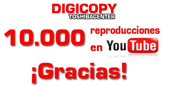 ¡Ya tenemos 10.000 reproducciones en Youtube!