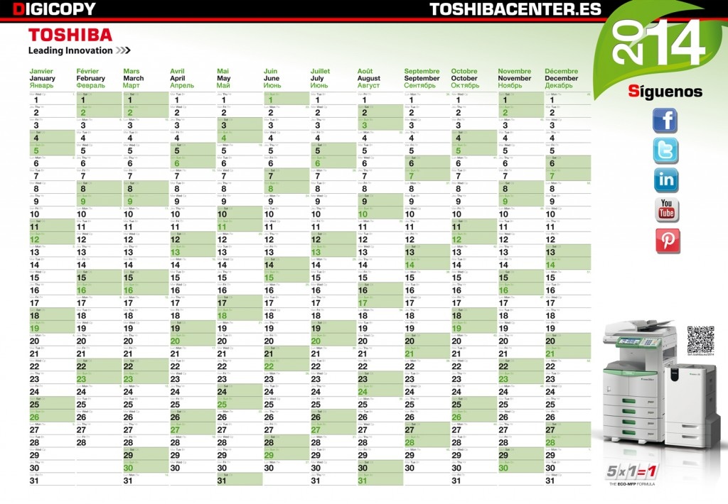 Wall Calender 2014.indd