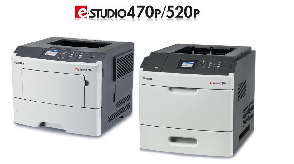 Nuevos modelos de Toshiba e-STUDIO 470P y e-STUDIO 520P