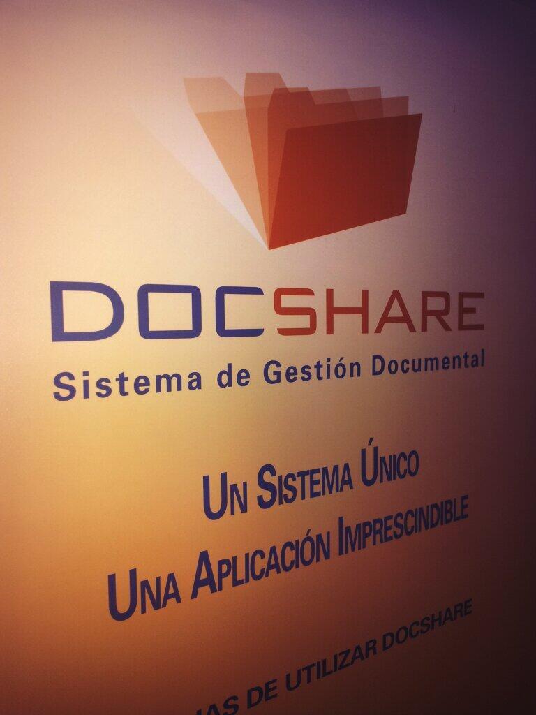 Actualizamos nuestras mentes, mejoramos nuestra gestión documental: Formación DocShare